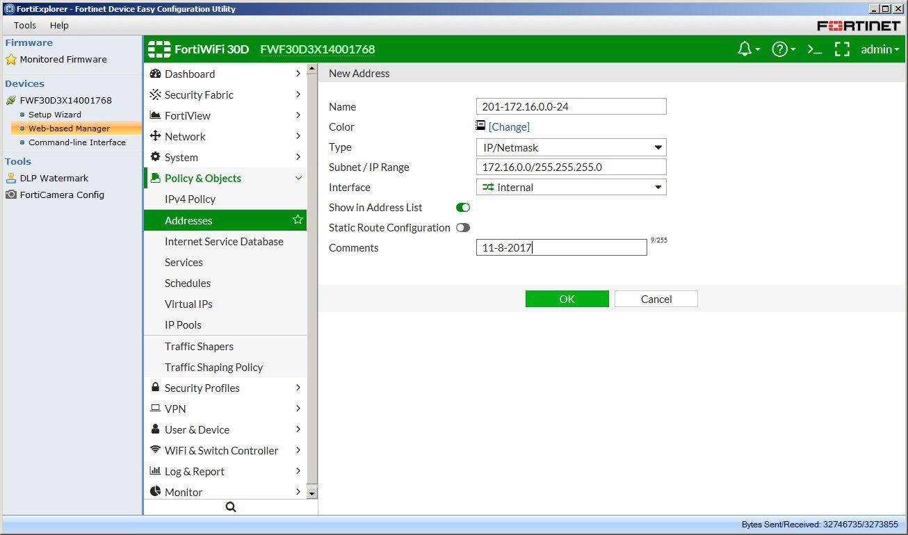 Fortigate Management Interface Ip